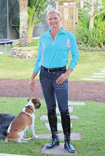 TuffRider Ladies Sierra Denim Breech 28 (Jeans Tuffrider Riding)