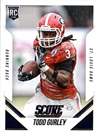 quality design 2ae0e 7d67c Amazon.com: Todd Gurley 2015 Score Mint Rookie Card #386 ...