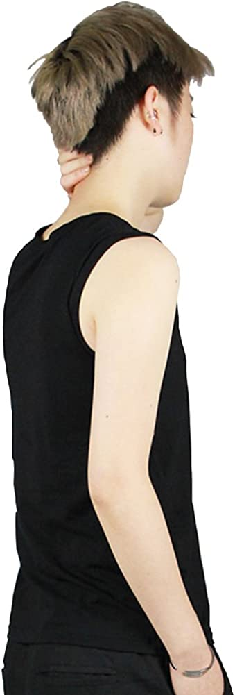 Womens Colorful Built-in Chest Binder Tomboy Lesbian Tank Top Vest Stronger Bandage