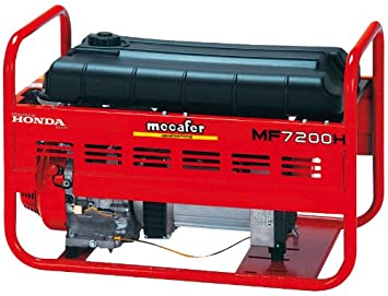 Mecafer 450172 Groupe électrogène 4 temps honda 6430 W  Amazon.fr ... 8bb6f746bc67