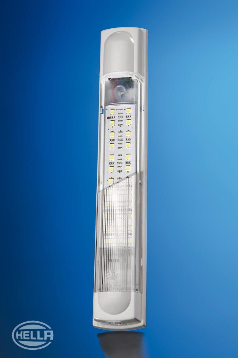 LED Innenraumlicht Anbau 12//24 V HELLA 2JA 007 373-161 Innenraumleuchte