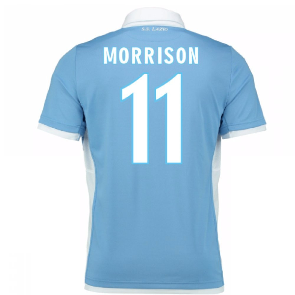 2016-17 Lazio Home Shirt (Morrison 11)