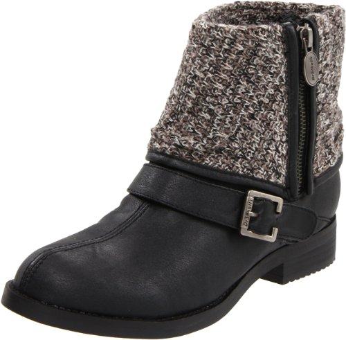 Dr. Scholl's Women's Bobbin Ankle Boot,Black,9.5 M US