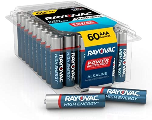 Rayovac AAA Batteries, Alkaline Triple A Batteries (60 Battery Count)