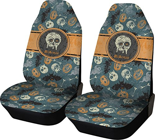 orange and blue car seats covers - 6