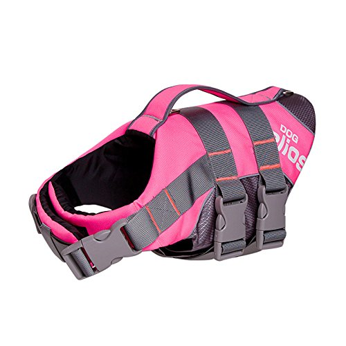 LIMARIO Dog Ripstop Life Vest Jacket for Water Safety (XL, Pink) by LIMARIO