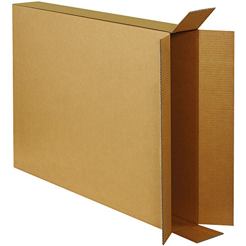 Ship Now Supply SN28538FOLMS Side Loading Moving Boxes, 38'' Height, 28'' Length, 5'' Width, Kraft (Pack of 20) by Ship Now Supply