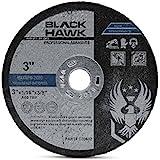 """25 Pack 3"""" x 1/16"""" x 3/8"""" Arbor Metal & Stainless Steel Cut Off Wheels - For Die Grinders"""