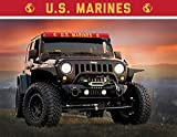 "AEROX IND. US Marines LED Light Bar Cover, 52"" Insert"