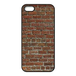 Wall Brick Series, IPhone 5,5S Cases, Brick Wall Texture Cases for IPhone 5,5S [Black]