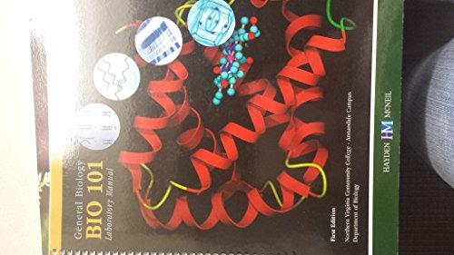 NVCC Northern virginia community college General Biology Bio 101 Laboratory Manual