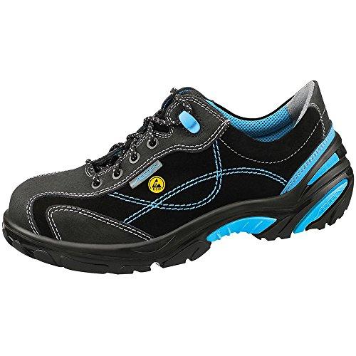 Abeba 34621 - 48 Crawler Chaussures De Sécurité Low Esd Taille 48 Noir / Bleu