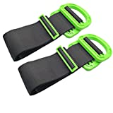 2PCS Adjustable Moving and Lifting Straps for, Lifting Moving Strap, Heavy Lifting Straps, Used for Moving Heavy Articles Such as Furniture, Boxes, mattresses, etc