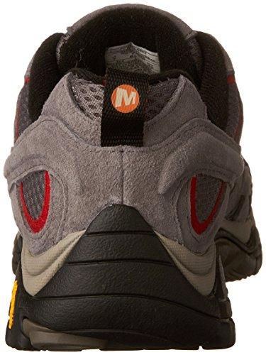Merrell charcoal m Grigio Escursionismo Eu 2 Stivali 40 Grey Da Moab Vent Uomo rqCrg