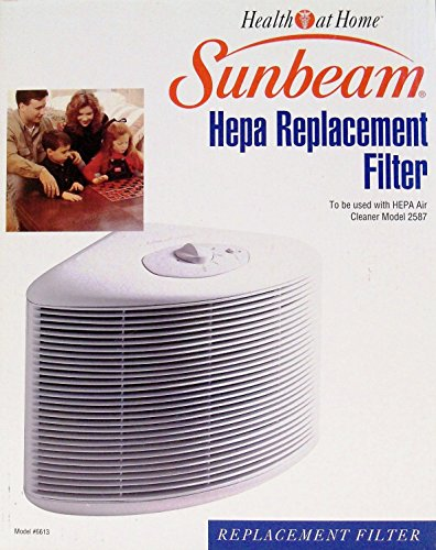 sunbeam air purifier filter - 8
