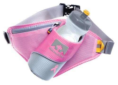 Cheap Nathan Triangle Insulated Angled Holster Waist Pack (Pink / Light Grey)