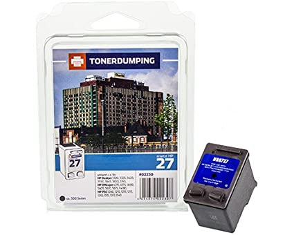 Toner Dumping XL Cartuchos de Tinta Compatible con HP 27/C8727AE ...