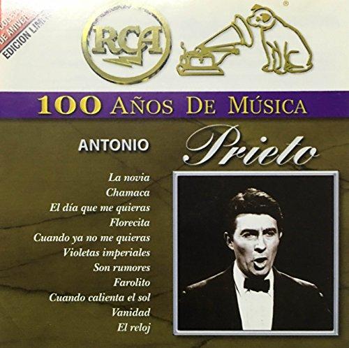 Antonio Prieto: 40 Temas y Exitos.