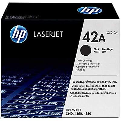 HP 42A Black Toner Cartridge Q5942A