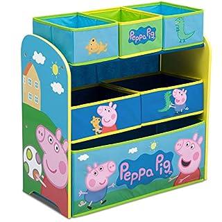 Delta Children 6-Bin Toy Storage Organizer, Peppa Pig