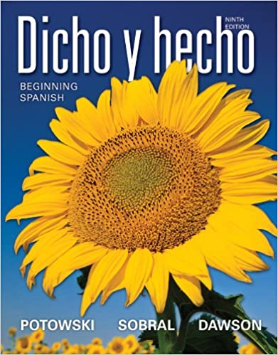 Dicho y hecho 9th edition beginning spanish: 9781118099308: amazon.
