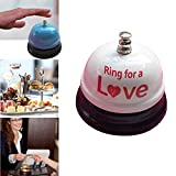 Fiesta Hotel Counter Desk Bell Ring Metal Reception Restaurant Kitchen Bar Service Call Kitchen Timers Wholesale 0307: China, G