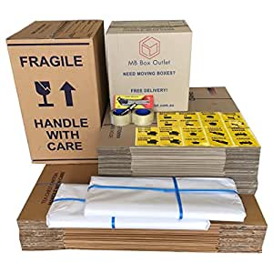 Moving Box Pack – 50 Boxes (20x100L+30x50L)