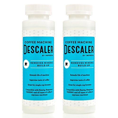 Keurig Descalcificador (2unidades, 2usos por botella)–fabricado en los Estados Unidos–Solución antical para...
