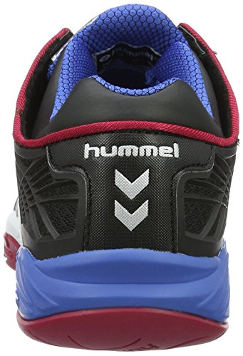 Hummel Omnicourt Z8 Trophy Unisex-Erwachsene Hallenschuhe Schwarz (Black)