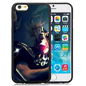 Popular And Unique Designed Case For iPhone 6 4.7 Inch TPU With Playing Guitar Phone Case Cover