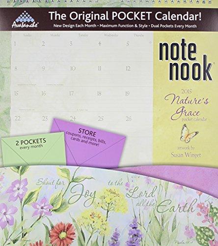 Nature's Grace Note Nook 2015 Calendar