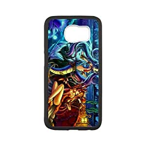 Anime Mermaid Samsung Galaxy S6 Cell Phone Case White SUJ8489808