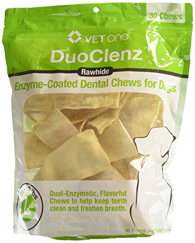 Vet One DuoClenz Enzyme Coated Dental Chews Large (30 Count)