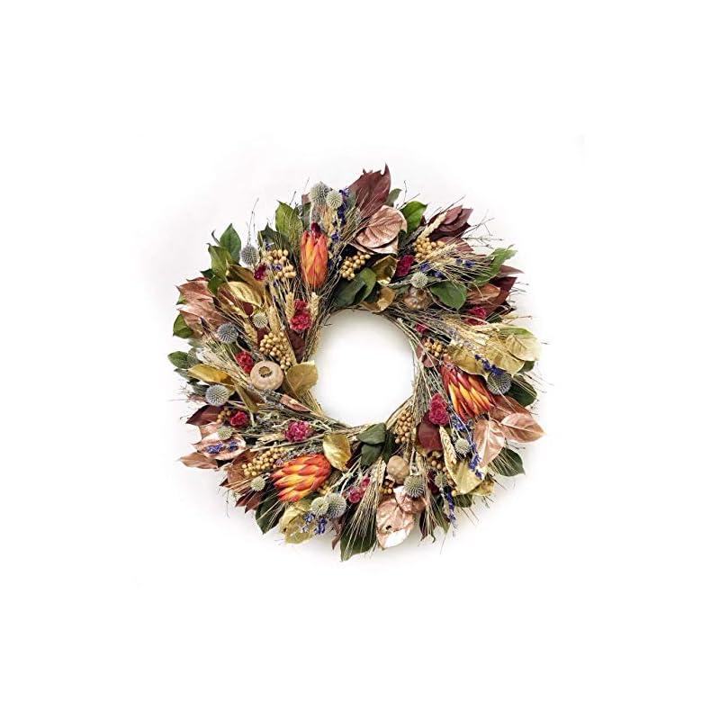 silk flower arrangements vancortlandt farms handmade autumn beauty wreath