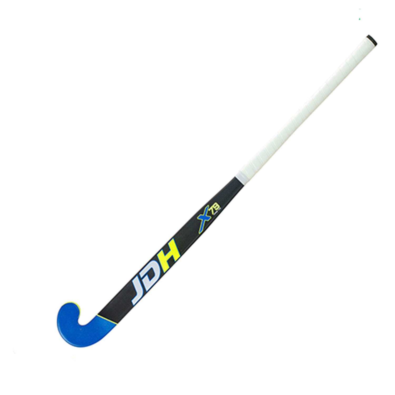JDH X79 TT Low Bow Composite Field Hockey Stick Free Grip /& Carrying Bag