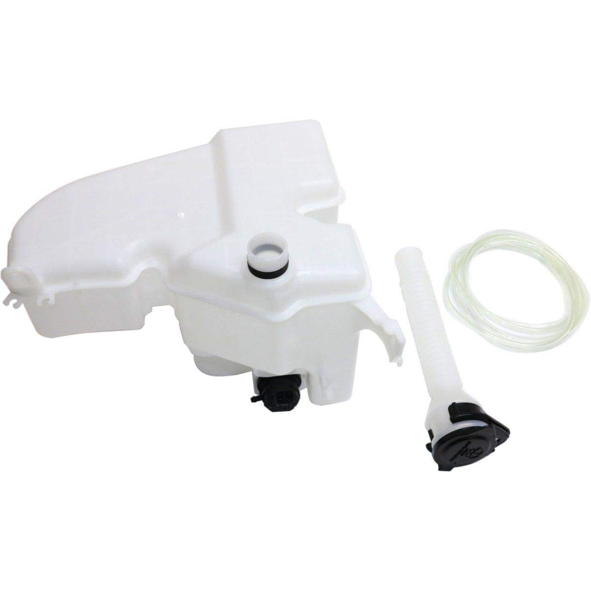 New Washer Fluid Reservoir For 2006-2011 GS300/GS460 & 2006-2015 IS250/IS350 With Sensor/Pump/Inlet For Models With Headlight Washers LX1288109 8535530040 Fitrite Autoparts