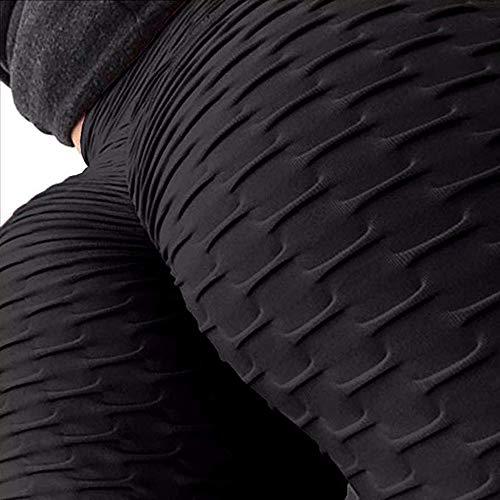 Mtianxy Leggings Donna Fitness, Pantaloni Sportivi Yoga Vita Alta Controllo della Pancia Elastici Morbido, Abbigliamento per Palestra Allenamento Jogging