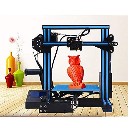 WUAZ Impresora 3D Mejorada Impresora De Calidad Completa De Alta ...