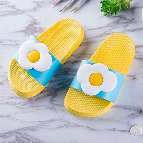 frutta fankou indoor da estate pantofole pantofole Cartoon frangipani cool ciabatte per donne e pantofole le uomini Casa 40 scivolo coppie deliziosa bagno home anti UwCwrq