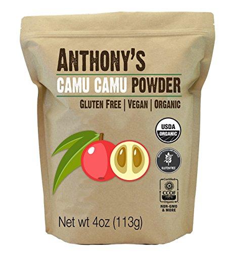 Organic Camu Camu Powder by Anthony's (4 (Camu Powder)