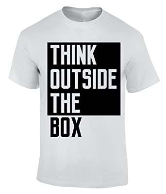 T y Outside Box Shirt Think MenRopa The accesorios f6gY7yb