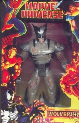"Marvel Universe Battle-Damaged WOLVERINE 10"" Action Figure [Toy]"