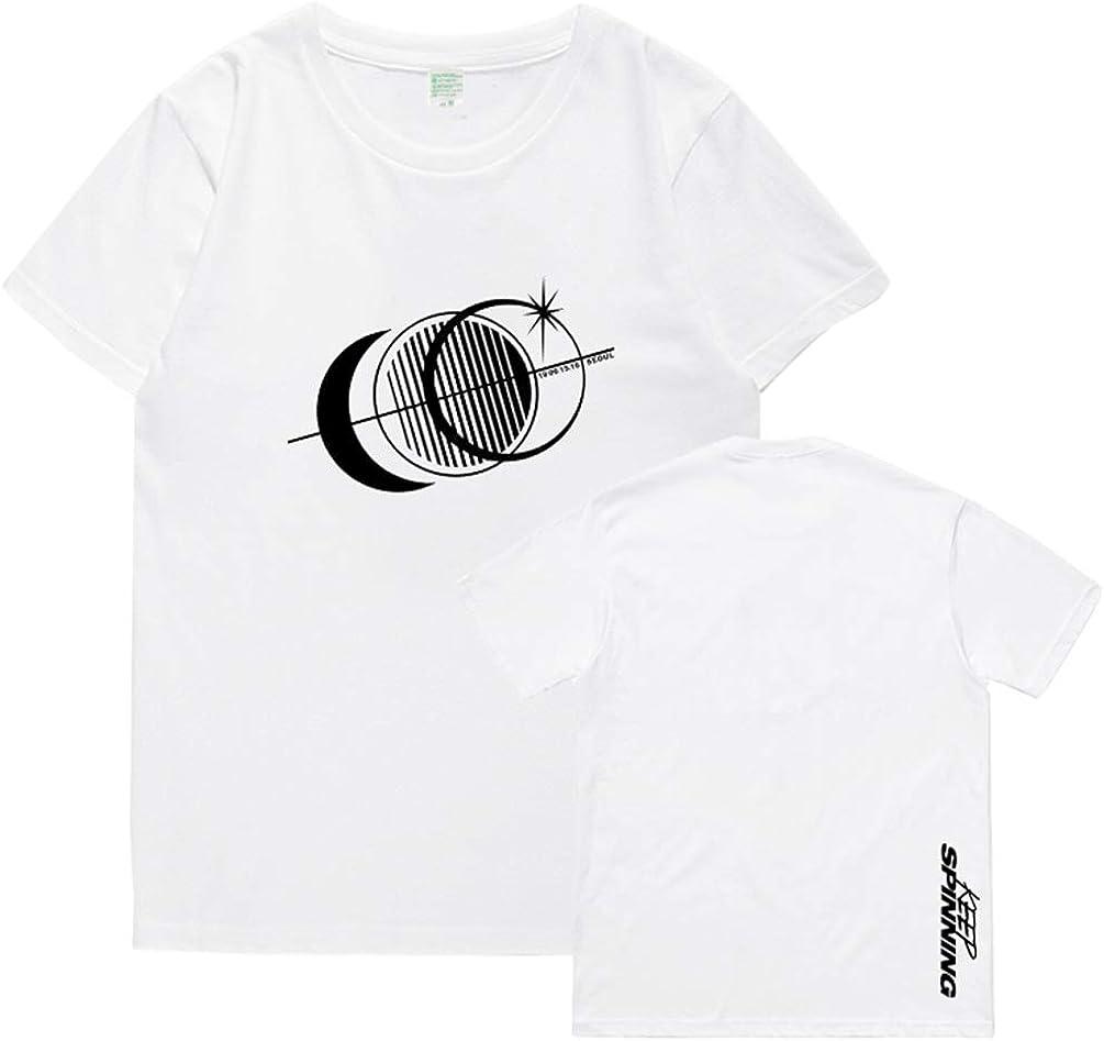 bishixiangenbaihuo Camiseta de Manga Corta con Cuello Redondo ...