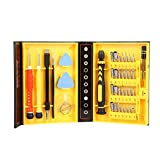 Anseahawk 38 in 1 Precision Screwdriver Repair Tool Set Kits for Tablets, Laptops, PC, Smartphones iPad iPhone 6S 6 Plus 5S 5C 5 4S Samsung Galaxy S6 Edge Plus S5 Note 5 4 LG HTC Oneplus and More
