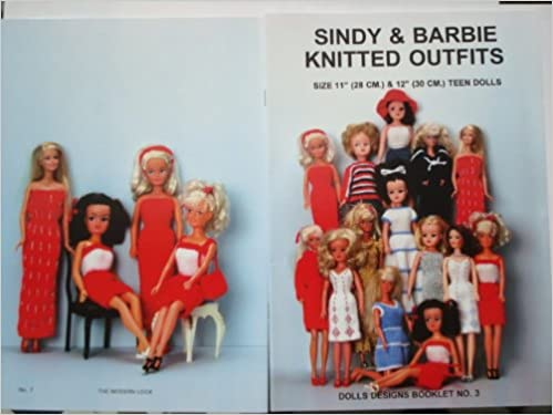 Sindy And Barbie Knitted Outfits Dolls Designs Amazon