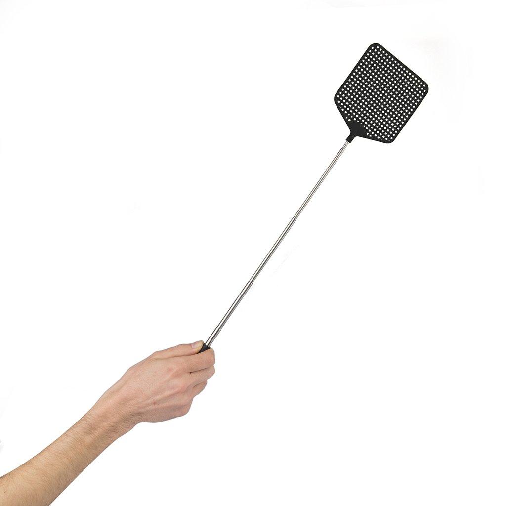 Balvi Ammazza mosche Zooom Colore nero Estensibile fino a 73,5cm Plastica PVC Balvi Gifts S.L.