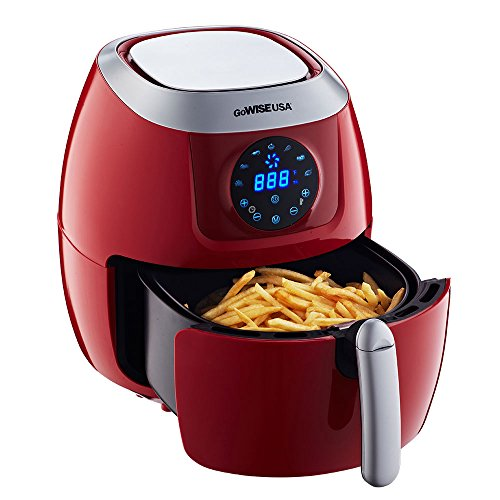 Gowise usa 5 8 quart programmable 7 in 1 air fryer for Gowise usa