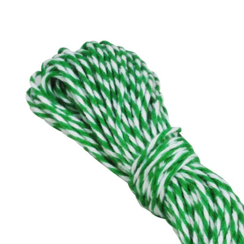 Dress My Cupcake Baker's Twine String Roll for Gifts and Favors, 15-Yard, Kelly Emerald Green