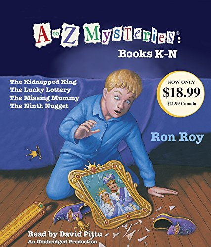 A to Z Mysteries: Books K-N: The Kidnapped King; The Lucky Lottery; The Missing Mummy; The Ninth Nugget (A To Z Mysteries The Missing Mummy)