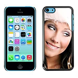 YOYO Slim PC / Aluminium Case Cover Armor Shell Portection //Christmas Holiday Sexy Girl Woman 1005 //Apple Iphone 5C